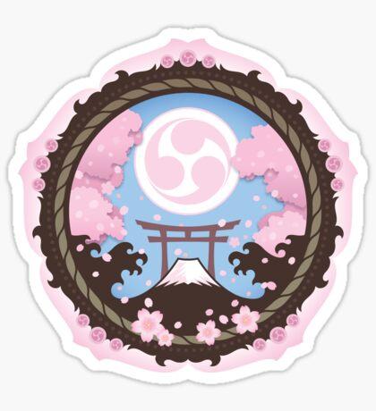 Sakura Matsuri Sticker