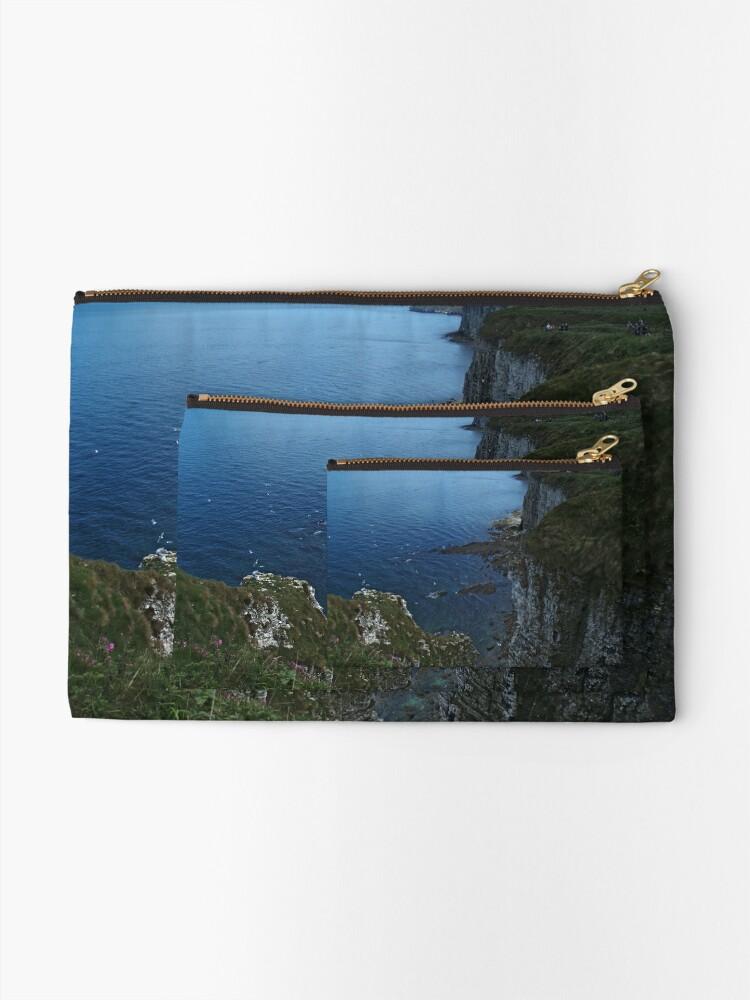 Alternate view of Bempton Cliffs Zipper Pouch