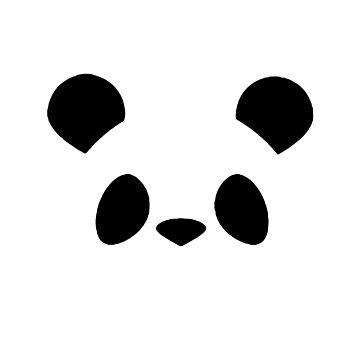 Panda Face by ThievingPanda