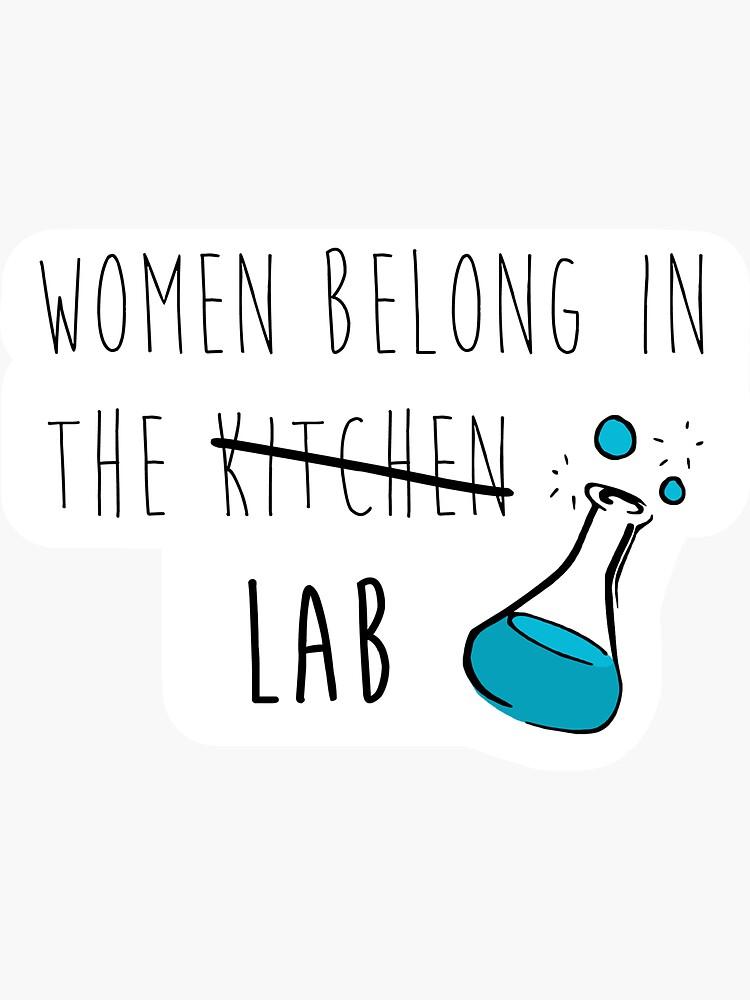Las mujeres pertenecen en el laboratorio de laineregen