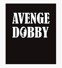 Avenge Dobby white Photographic Print