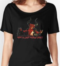 Lord of Darkness - What is light without dark? rev2 Women's Relaxed Fit T-Shirt
