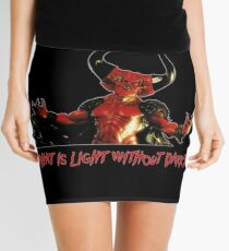 Lord of Darkness - What is light without dark? rev2 Mini Skirt