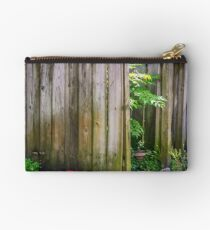 Old Fence Still Standing  Studio Pouch
