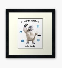 Bumble for Christmas Framed Print