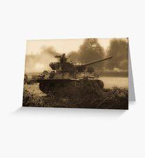 WW2 Tank Greeting Card
