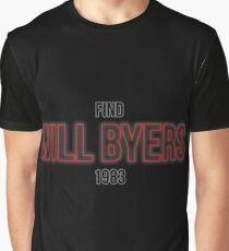 Find Will Byers 1983 Graphic T-Shirt