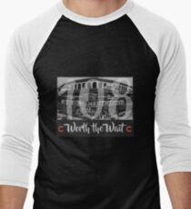 Cubs 108 - Worth the Wait Men's Baseball ¾ T-Shirt