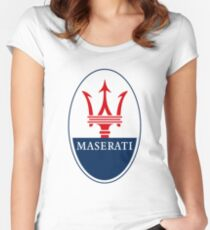 Maserati Fast Women's Fitted Scoop T-Shirt
