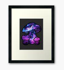 Psilocybin Mushroom Framed Print