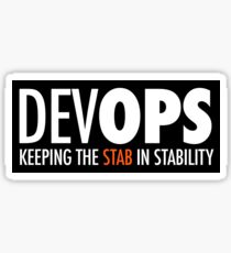 Keeping the Stab in Stability (sticker) Sticker