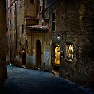 Streets of Siena by Stuart Row