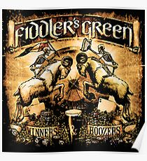 FIDDLER'S GREEN WINNERS & BOOZERS Poster