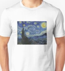 Starry Night (Vincent van Gogh) Slim Fit T-Shirt
