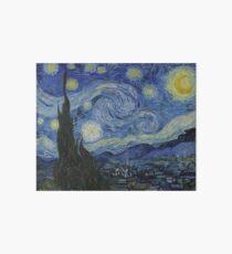 Starry Night (Vincent van Gogh) Art Board
