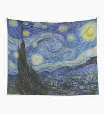 Starry Night (Vincent van Gogh) Wall Tapestry