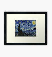 Starry Night (Vincent van Gogh) Framed Print