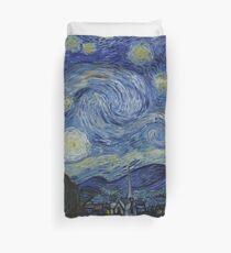 Starry Night (Vincent van Gogh) Duvet Cover