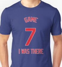 Game 7. I Was There. (Red) Unisex T-Shirt