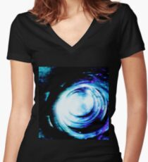 Mirror Women's Fitted V-Neck T-Shirt