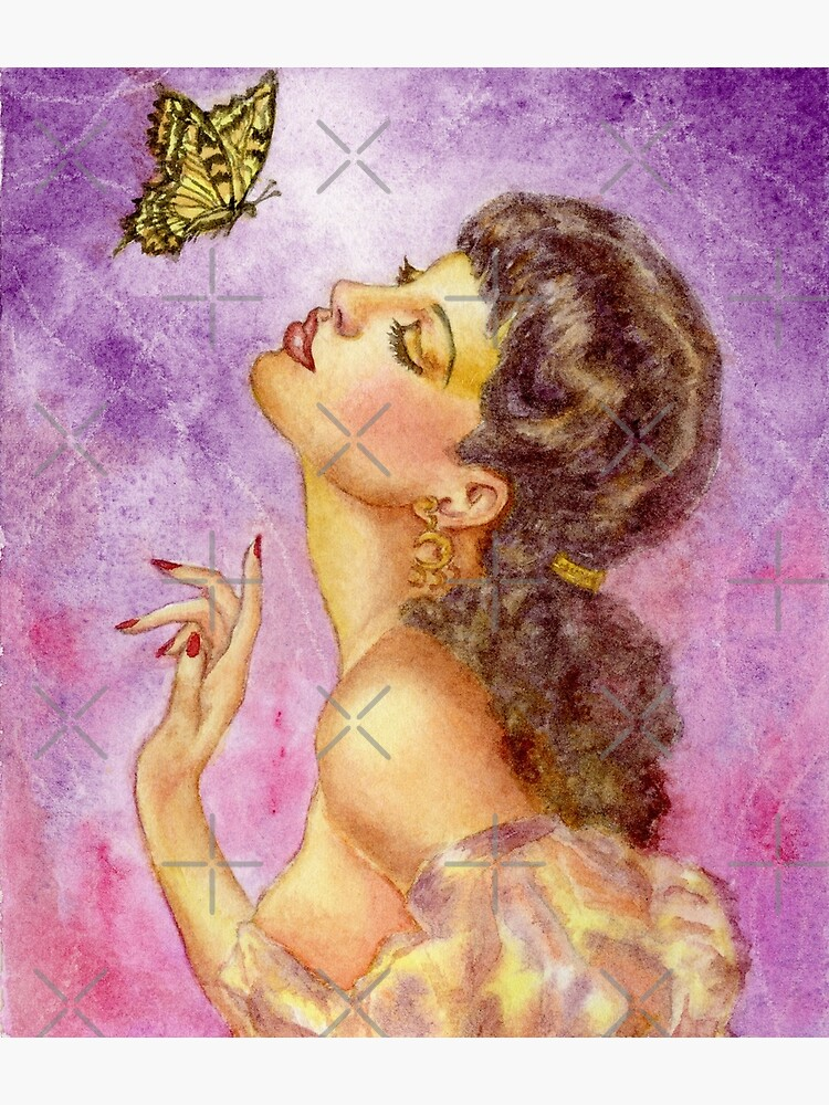 Beautiful Butterfly Girl by HajraMeeks