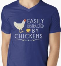 Easily Distracted By Chickens T-Shirt