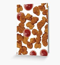 Chicken Nuggets Greeting Card