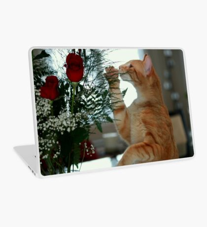 Smell The Rose Laptop Skin