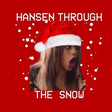 Hansen Through the Snow by kasuallykruel