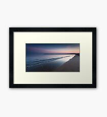 Swansea bay and Mumbles Framed Print