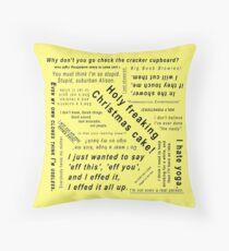 Alison Hendrix Quotes Throw Pillow
