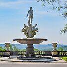Oceanus Fountain - Kykuit Rockefeller Estate   Sleepy Hollow, New York by © Sophie W. Smith