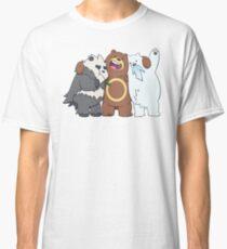Poke Bare Bears Classic T-Shirt
