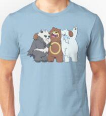 Poke Bare Bears T-Shirt