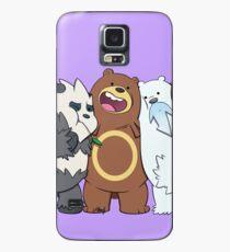 Poke Bare Bears Case/Skin for Samsung Galaxy