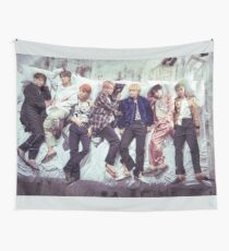BTS Wings Album - Sleep Wall Tapestry