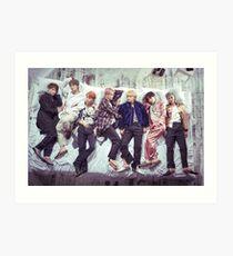 BTS Wings Album - Sleep Art Print