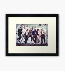 BTS Wings Album - Sleep Framed Print