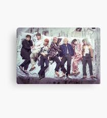 BTS Wings Album - Schlaf Metallbild