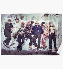 Póster Álbum de BTS Wings - Sleep