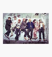 BTS Wings Album - Sleep Photographic Print