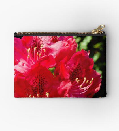 Rhododendron detail Zipper Pouch