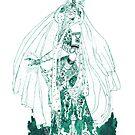 Enchantress in Emerald Ink by HAJRA MEEKS
