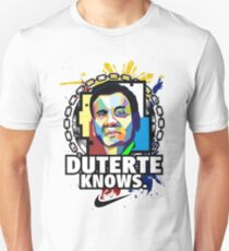 duterte know Unisex T-Shirt