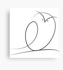 Brush Owl Canvas Print