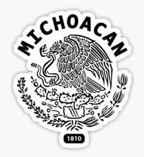 Michoacan Mexico Sticker