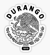 Durango Mexico  Sticker