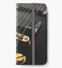Black Guitar iPhone Wallet/Case/Skin