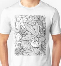 Fallen leaves Unisex T-Shirt