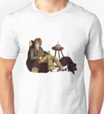 Remus, Tea, Black Dog, Colour T-Shirt